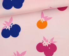 Stoff - Beeren - Berries - Früchte - Fiesta Fun - Dana Willard - Rosa