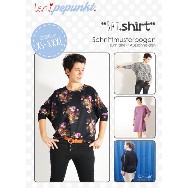 Schnittmuster - Bat Shirt - XS-XXXL - lenipepunkt