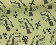 Jersey - Dino - Tyrannosaurus - Andrea Lauren - Olivgrün