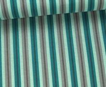 Stoff - Streifen - Stripes - Pastellgrün