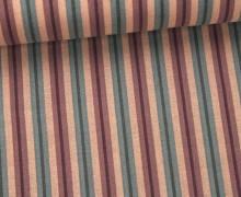 Stoff - Streifen - Stripes - Altrosa
