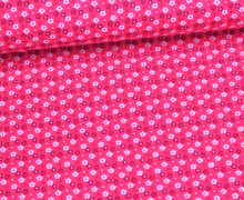 Stoff - Blume an Blume - Flowers - Pink
