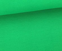 Glattes Bündchen - Uni - Bio Qualität - Schlauch - Blattgrün