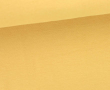 Glattes Bündchen - Uni - GOTS - Schlauch - Cream
