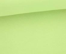 Glattes Bündchen - Uni - Bio Qualität - Schlauch - Schaumgrün