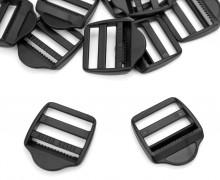 10 Schieber aus Kunststoff für 30mm Band - Schwarz