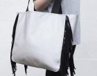 Kunstleder - hochwertig - Fashionstoff - Schwarz