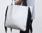 Kunstleder - hochwertig - Fashionstoff - Grau