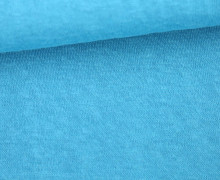 Fashionstoff - Snow Slub - Leichter Strick - Elastisch - Uni - Hellblau