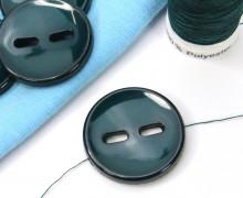 1 Knopf - 25mm - Rund - Muster - Tannengrün