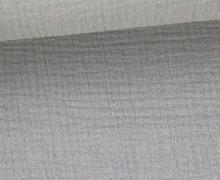Musselin Lotta - Muslin - Uni - Double Gauze - Schnuffeltuch - Windeltuch - Hellgrau