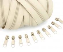 2m Endlos Reißverschluss *S*+10 Zipper Sand (308)
