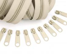 2m Endlosreißverschluss *B*+10 Zipper Sand (308)