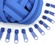 2m Endlos Reißverschluss *B*+10 Zipper Blau (219)