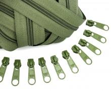 2m Endlos Reißverschluss *B*+10 Zipper Armygrün (327)