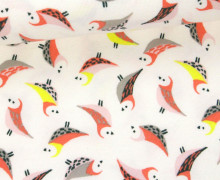 Jersey - Kleine Vögel - Little Birds - Apricot/Altweiß