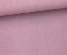 Fashionstoff - Uni - Blusenstoff - Altlavendel