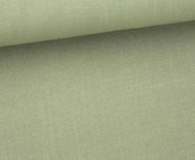 Fashionstoff - Uni - Blusenstoff - Olivgrün