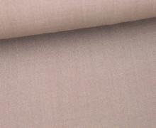 Fashionstoff - Uni - Blusenstoff - Taupe