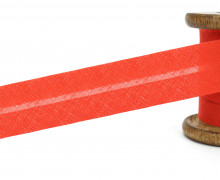 3 Meter Schrägband - 30mm breit - Hellrot