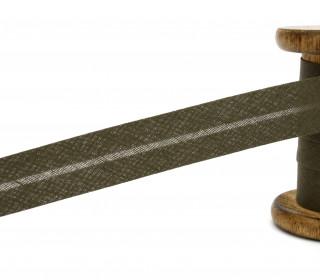 3 Meter Schrägband - 20mm breit - Dunkelbraun