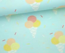 Jersey - Eis - Ice Cream Cone - Streusel - Hellblau