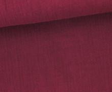 Musselin – Muslin – Double Gauze – Uni – Bordeaux