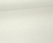 Musselin - Muslin - Double Gauze - Uni - Wollweiß