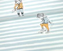Jersey - Rapport - Coole Jungs - Skater - NIKIKO - GOTS - Mint