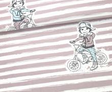 Jersey - Rapport - Coole Jungs - Biker - NIKIKO - Bio Qualität - Altrosa