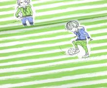Jersey - Rapport - Coole Jungs - Fußballer - NIKIKO - Bio Qualität - Hellgrün