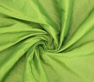 Fashionstoff - Crepe-Stoff - Glänzend - Uni - Apfelgrün