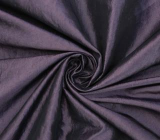 Fashionstoff - Crepe-Stoff - Glänzend - Uni - Dunkellila
