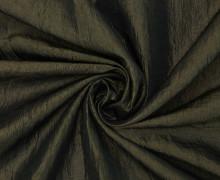 Fashionstoff - Crepe-Stoff - Glänzend - Uni - Schwarzgrün