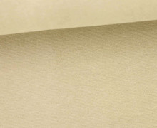 Glattes Bündchen - Uni - Schlauchware - Sand