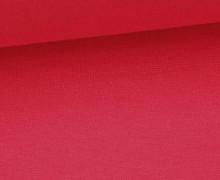 Glattes Bündchen - Uni - Schlauchware - Magenta