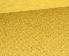 Glattes Bündchen - Glitzer - Metallic - Uni - Schlauchware - Gold/Gold