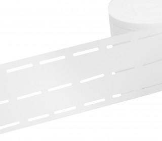 1 Meter Bund-Vlies - Bundeinlage - 30mm - Bügelbar - Weiß