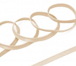 1 Meter Paspelband/Biesenband - Uni - Beige