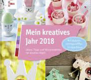 Buch - Mein kreatives Jahr 2018 - Harburg