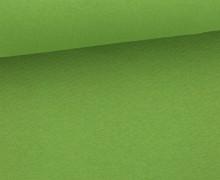 Glattes Bündchen - Shining - Uni - Schlauchware - Grün