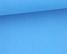 Glattes Bündchen - Shining - Uni - Schlauchware - Aqua