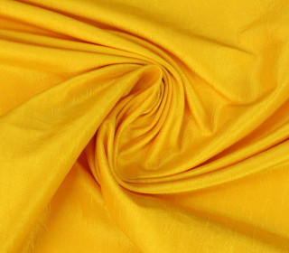 Fashionstoff - Crepe-Stoff - Glänzend - Uni - Gelb