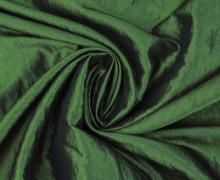 Fashionstoff - Crepe-Stoff - Glänzend - Uni - Dunkelgrün