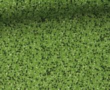 Stoff - Punkte - Sprenkel - Summertime - Grün