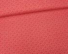 Stoff - Ranken - Blätter - Summertime - Rot