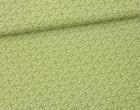 Stoff - Ranken - Blätter - Summertime - Olivgrün