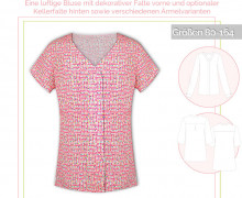 Schnittmuster - Marisol-Bluse - No.55 - 80-164 - lillesol&pelle