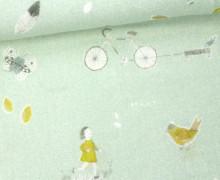 Musselin Lotta - Double Gauze - Mädchen - Home - Miriam - Pastellmint