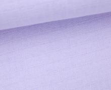 Musselin Charly - Muslin - Uni - Flieder